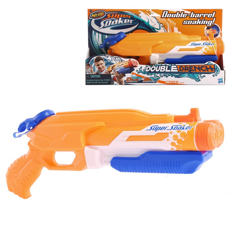 Licensed High Qulity Nerf Super Soaker Double Drench Water