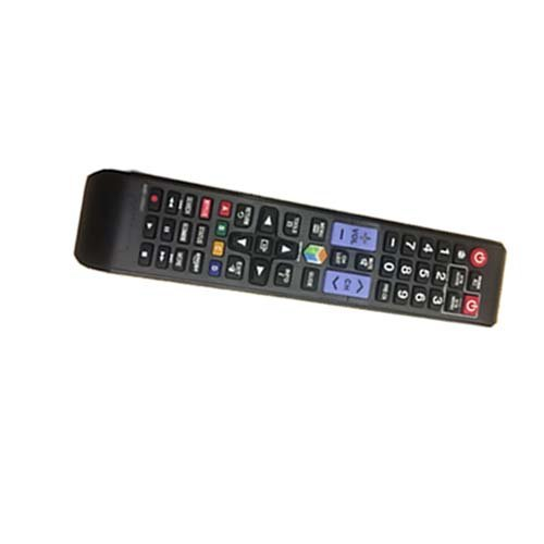 Black Wireless Mini Ultra Slim Keyboard and Mouse For Easy Smart TV Contol for Samsung UN46EH5300FXZA Smart TV