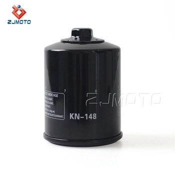 17mm Nut Replacement Engine Oil Filter Kn-148 For Yamaha Fjr1300 A/ae/as  2001-09 - Buy Oil Filter For Yamaha Fjr1300 A/ae/as 2001-09,Black K N  Kn-148