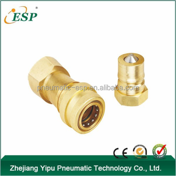 steel brass stainless steel ISO7421B quick coupler