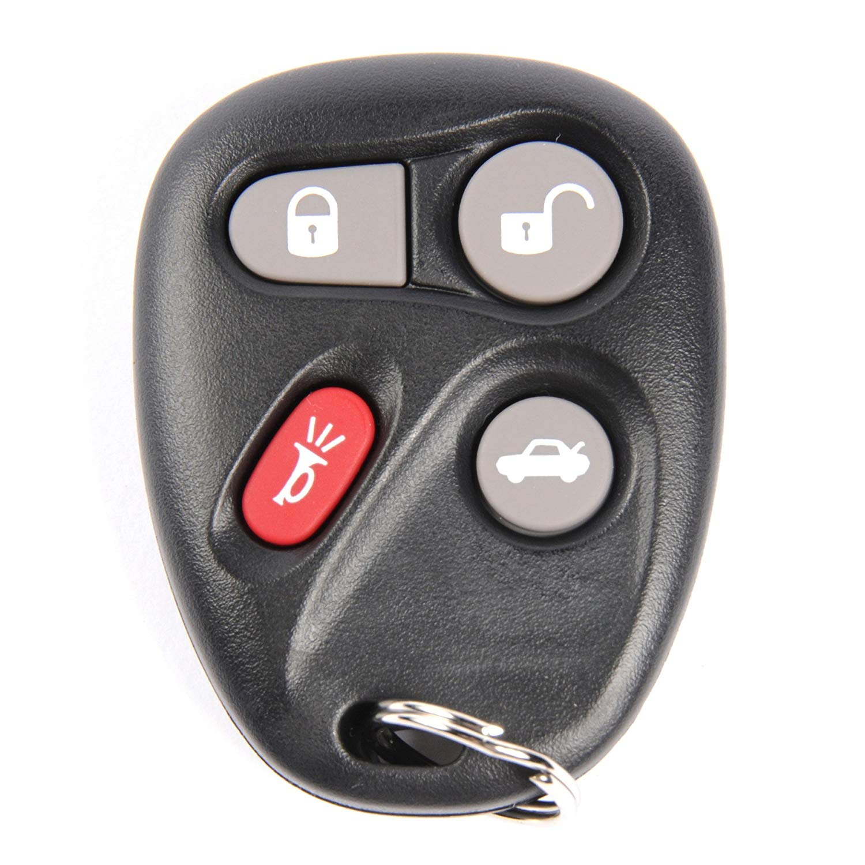 ACDelco 25695955 GM Original Equipment 4 Button Keyless Entry Remote Key Fob