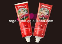 Laminated cosmetic hand cream,hair remover, facial cream packing tube