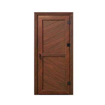 Upvc Profile Bathroom Flush Door Full Panel With Louver