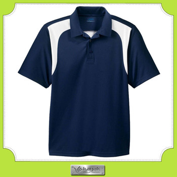 Custom Design Plain Dri Fit Color Combination Sport Polo Shirts