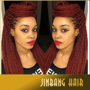 Senegalese Twist Synthetic Crochet Kinky Freetress Box Braids Hair ...