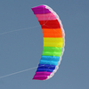 outdoor sport product dual-line parafoil trainer kite
