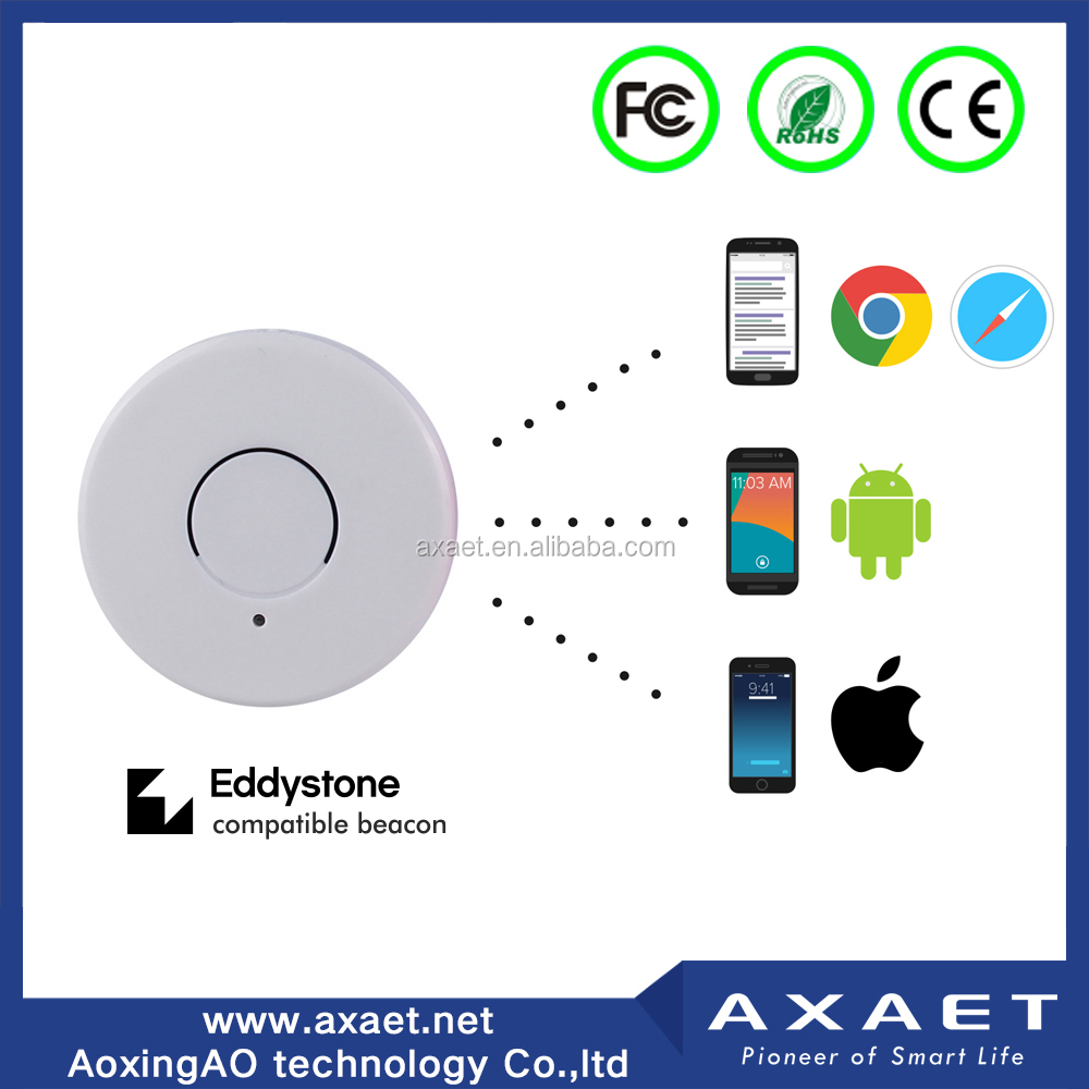 Outdoor Navigation <strong>Bluetooth</strong> 4.0 Low Energy Customized Ibeacon with 3M sticker