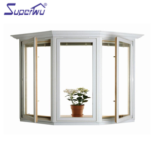 China supplier hot sale good appearance pvc large glass windows