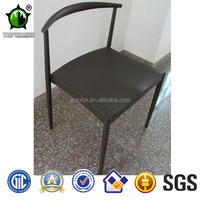 Affordable black metal dining chairs ourdoor coffee chair