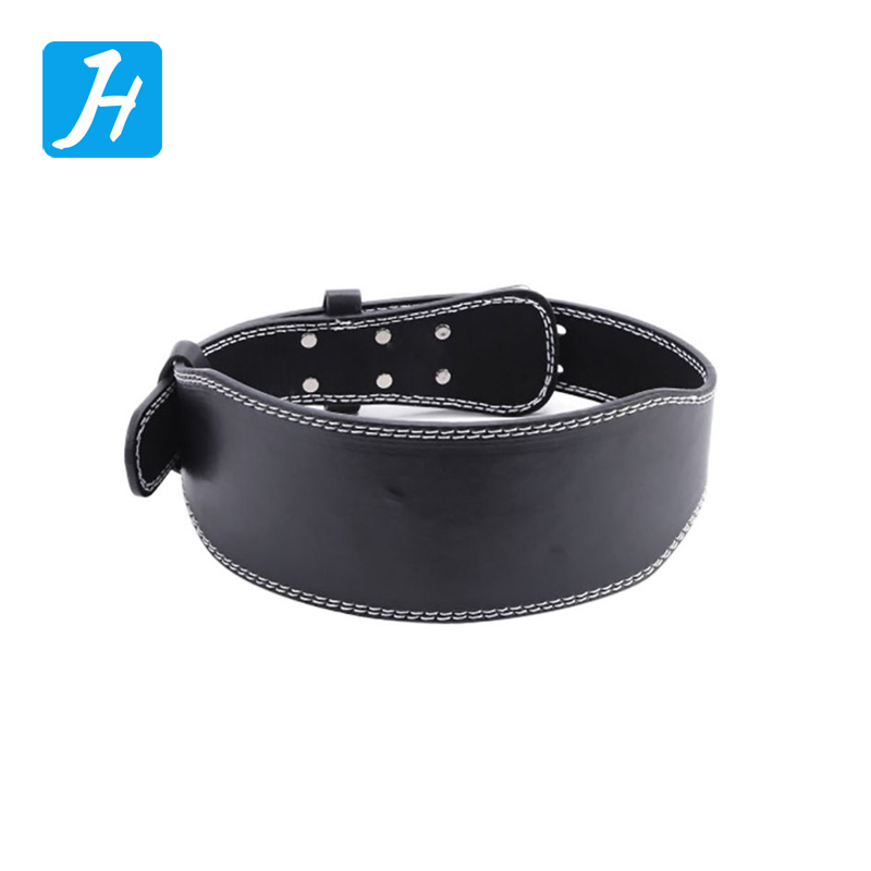 Crossfit Power Workout Leather Weight Lifting Belt