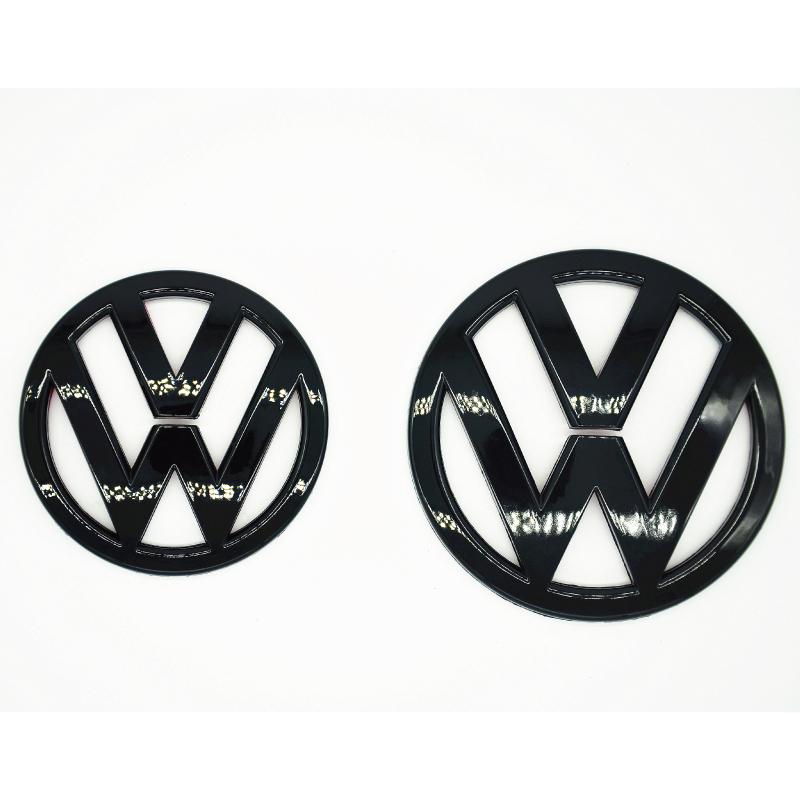 achetez en gros noir vw logo en ligne des grossistes noir vw logo chinois. Black Bedroom Furniture Sets. Home Design Ideas