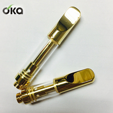 High quality Top filling cbd oil atomizer cartridge with ceramic element 5 intake oil hole no leak