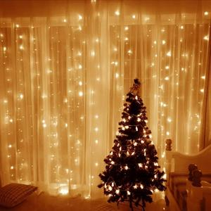 Evermore Christmas Safety fairy Led Curtain Wall String Light