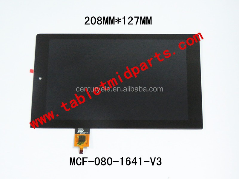 Replacement MCF-080-1641-V3 assembly Tablet LCD + touch screen for Lenovo yoga2 830L