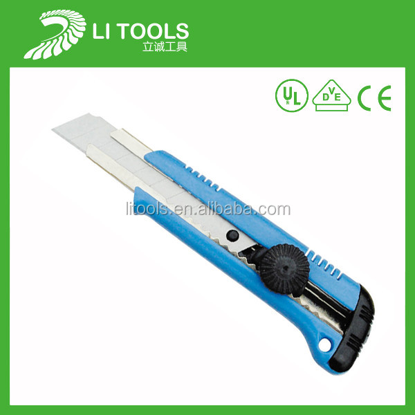 Zinc Alloy snap off cutter knife