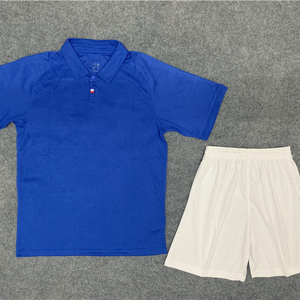 Wholesale Blue Soccer Jersey Uniform