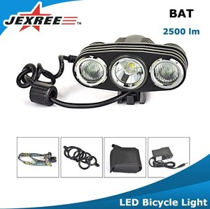 Jexree BAT 2500 lumen bicycle light bike accessories for road bike