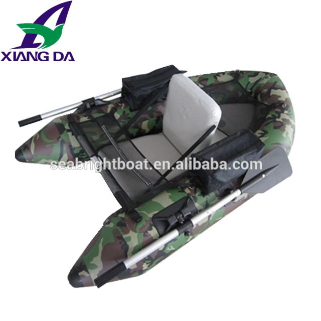 CE Certification Inflatable belly <strong>boat</strong> fishing flost folding <strong>boat</strong>