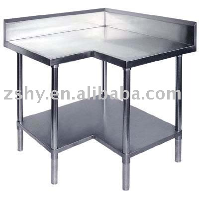Stainless Steel Corner Work Table, Stainless Steel Corner Work Table  Suppliers And Manufacturers At Alibaba.com