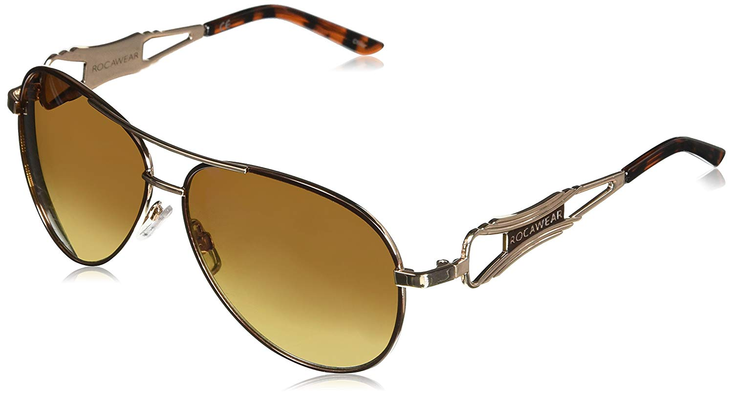 ed571a1cffb89 Get Quotations · Rocawear R436 Aviator Sunglasses
