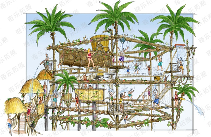 adventure games outdoors water park equipment