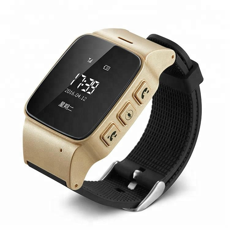 2019 Old Man Watch Phone Mini GPS Tracker Smart Watch For Old Man