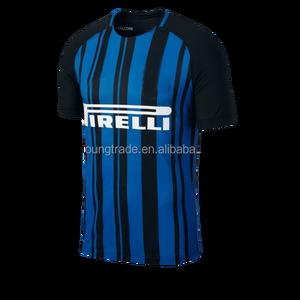 614f96c96939 2017 2018 wholesale thai quality customize Inter Milan soccer jersey