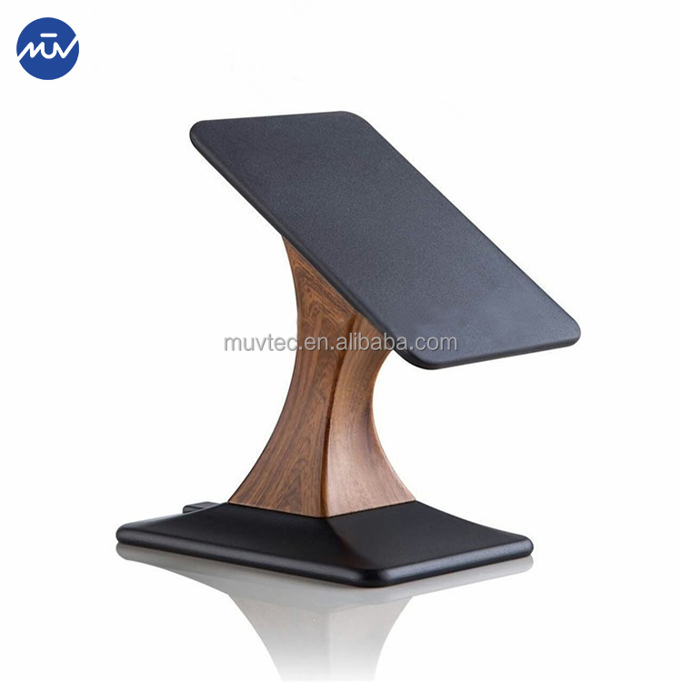 Wireless charger wooden stand phone holder charging pad qi wireless charger