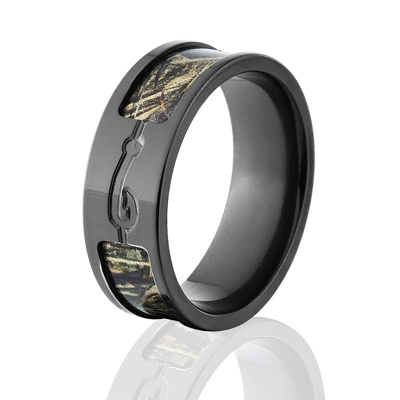 Get Quotations · Max 5 Camo Rings Realtree Wedding Bands Fishhook: Ceramic Camo Wedding Rings At Websimilar.org