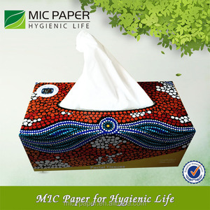China Factory Wholesale Facial Tissue / Box Facial Tissue