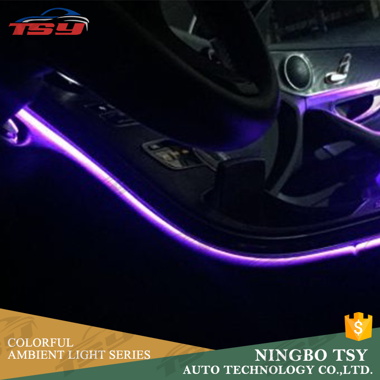 Hot 1m 2m 3m 5m 24v 12v Led Strip Light Car Design Lighting Interior Accessories Ambient Decorative Lamp