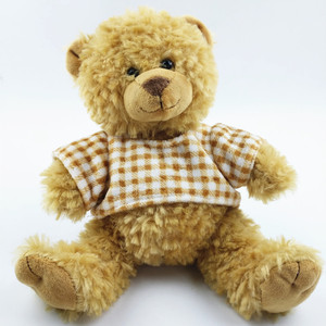 plush yellow soft custom mothers day teddy bear