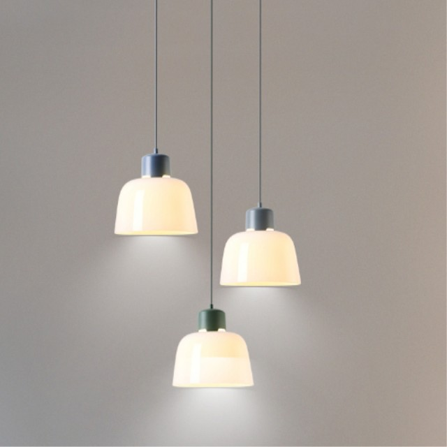North Europe restoring ancient hexagonal glass chandelier led pendant light parts with best price