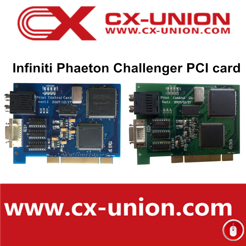 Brand New Challenger/Infiniti inkjet printers PCI card for spet print head eco solvent printing machine