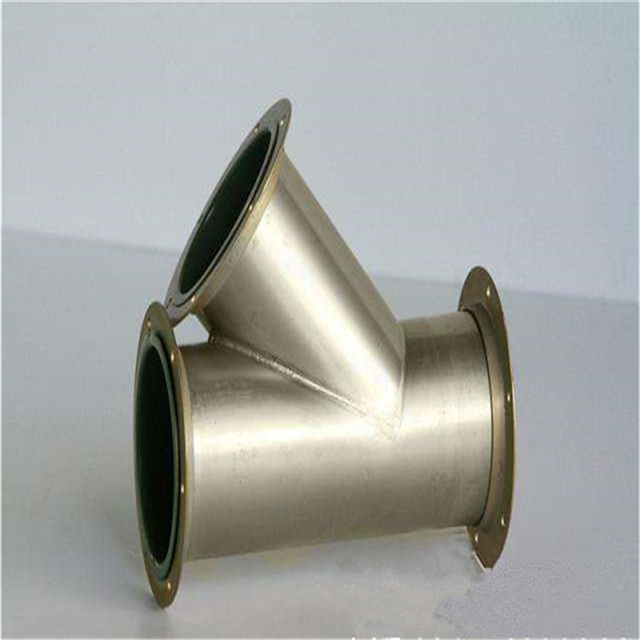 standard y-type tee 304/316 stainless steel tee pipe fittings