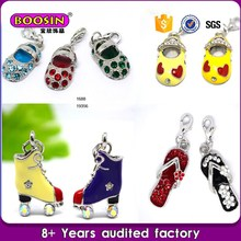 Fashion jewellery Latest ladies decorative charms enameled