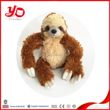 Wholesale china factory soft monkey, plush toy monkey with long arms and legs