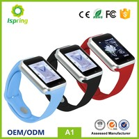 Oem Manufacturing Mtk6261 Best Price A1 double slot,SIM ,TF card Smart Watch