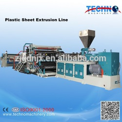 Advanced technology roofing sheet making machine for plastic pvc sheet with best quality and reasonable price
