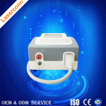 Portable skin contact cooling aroma 808nm diode laser hair removal