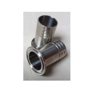 Stainless steel hygienic tri clamp hose coupling/ferrule