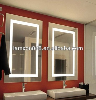 Lamxon Popular Design Wall Bathroom Led Vanity Mirror With Led ...