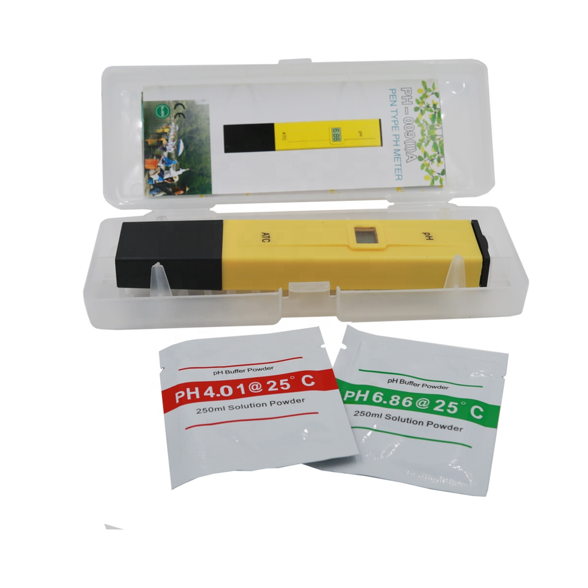 Pocket Pen Water test Digital PH Meter Tester PH-009 IA 0.0-14.0 pH for Aquarium portable Pool Water Laboratory with retail box