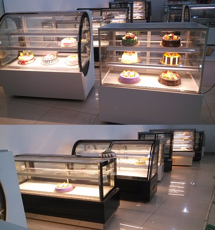 Shentop commercail bakery refrigerator STPA-M12A cake display chiller marble base or Stainless Steel cake showcase refrigerators
