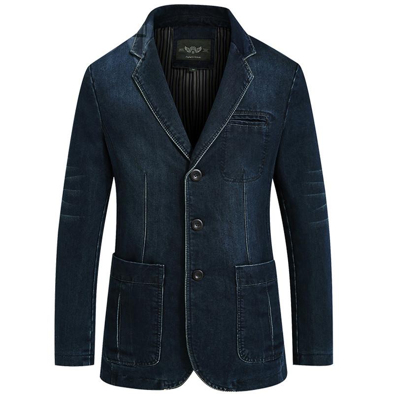Compra pantalones vaqueros chaqueta de los hombres online