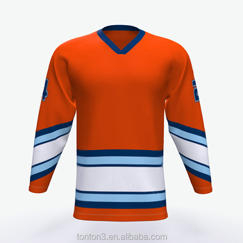 100% Polyester Jersey Printing Custom Reversible Name Number Sublimated Team  Ice Hockey Uniform e14049bc2