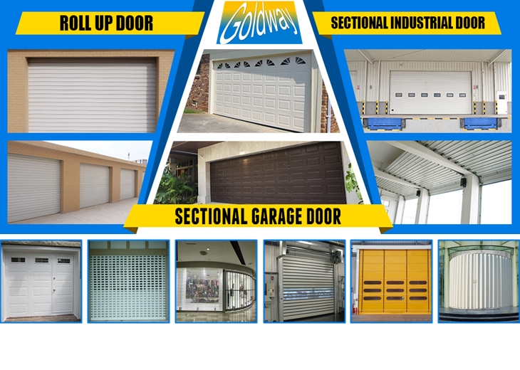 China Supplier Bluetooth Control Overhead Automatic Garage Door With
