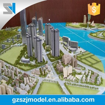 Construction City 3d Programming Model For Urban Development - Buy City 3d  Programming Model,City 3d Model,Architecture Modeling Supplies Product on