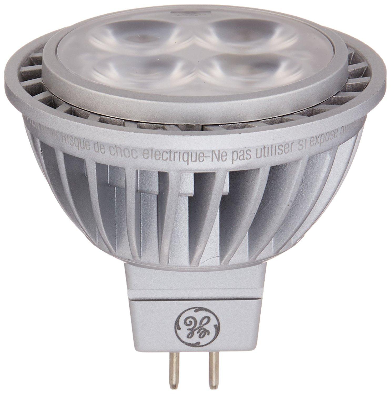GE Lighting 69920 Energy Smart LED 7-Watt (35-watt replacement) 390-Lumen MR16 Floodlight Bulb with GU5.3 Base, 1-Pack