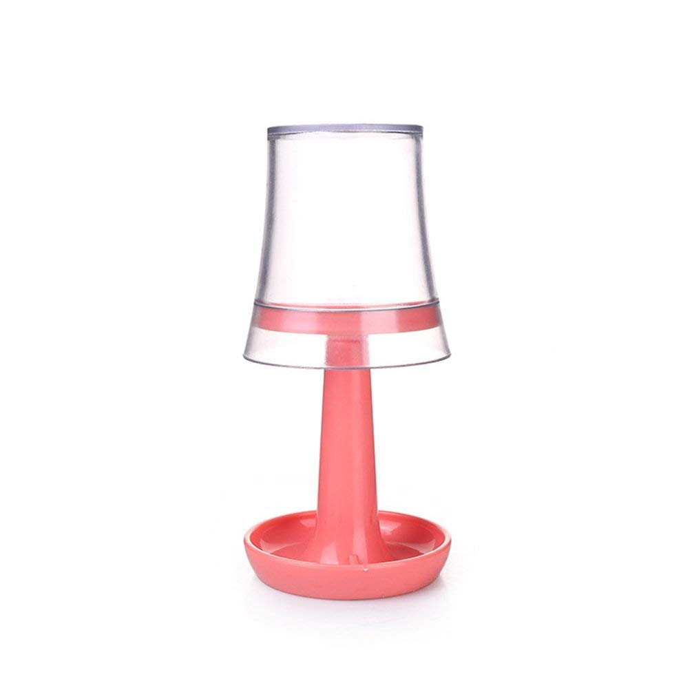 ViewHuge Table Lamp Shape Toothbrush Holder Wash Gargle Cup Suit,Toothbrush Toothpaste Cup Glass Holder